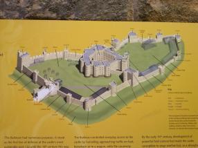 Le plan du chateau