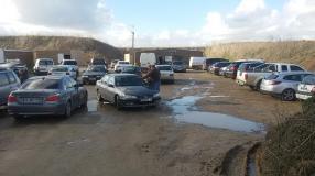 Parking plein